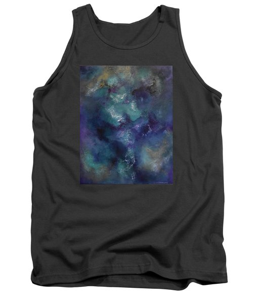 Tank Top featuring the painting Cheers by Tamara Bettencourt