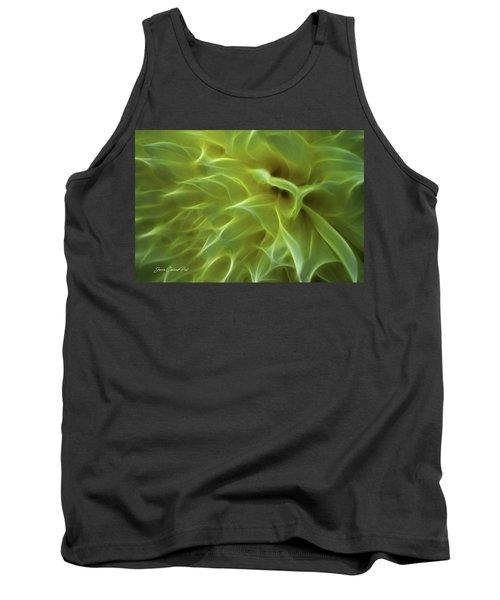 Cheery Chrysanthemum Tank Top by Joann Copeland-Paul