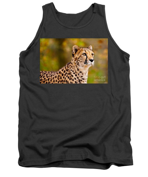 Cheetah In A Forest Tank Top