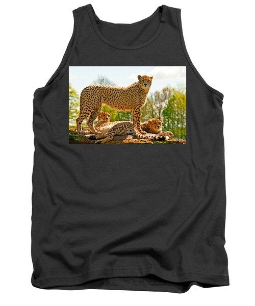 Cheetahs Three Tank Top