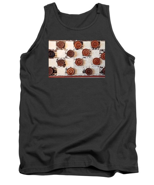 Chequer Board Tank Top