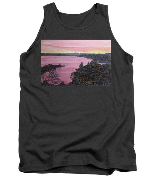 Cherokee Lake Sunset Tank Top