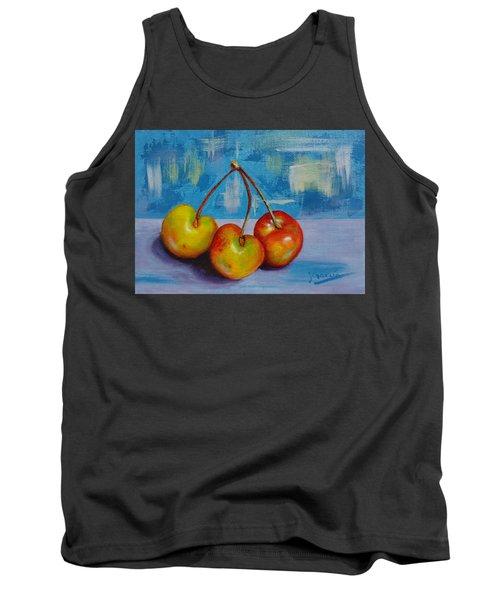 Cherries Trio Tank Top