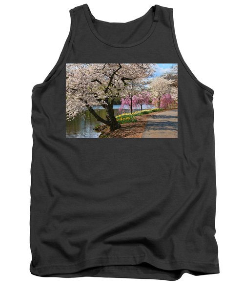 Cherry Blossom Trees Of Branch Brook Park 17 Tank Top
