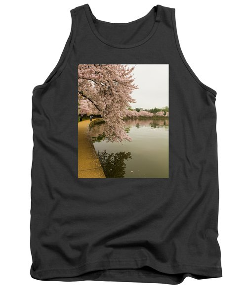 Cherry Blossoms Along The Tidal Basin 8x10 Tank Top