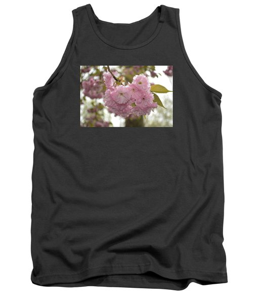 Cherry Blossoms Tank Top by Linda Geiger