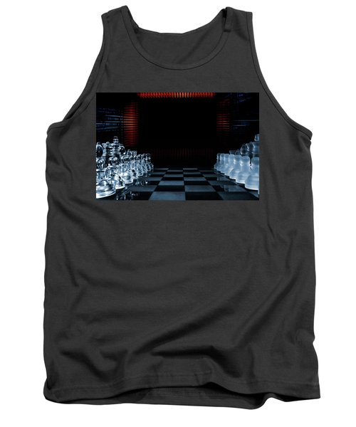 Chess Game Performed By Artificial Intelligence Tank Top
