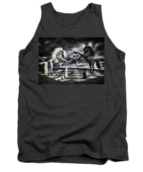 Chess Players Tank Top by Mihaela Pater
