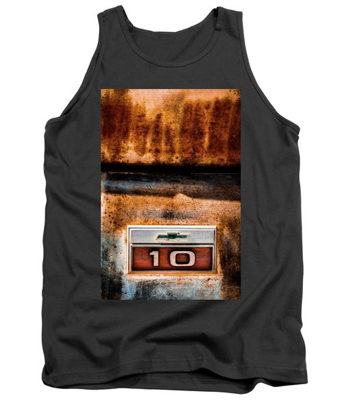 Chevy C10 Rusted Emblem Tank Top