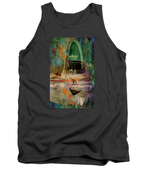 Chevy Tail Tank Top by Greg Sharpe