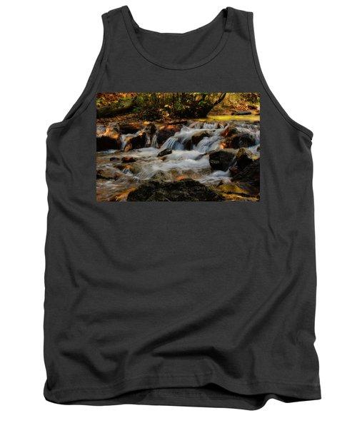 Tank Top featuring the photograph Cheyenne Canyon Autumn by Ellen Heaverlo