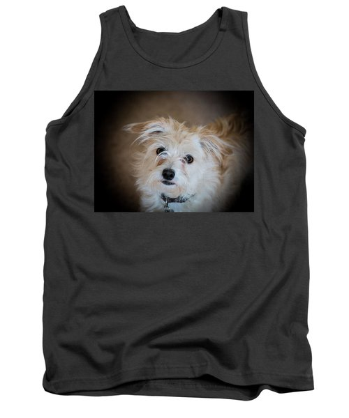 Chica On The Alert Tank Top by E Faithe Lester