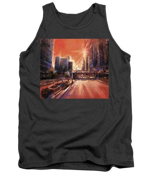 Chicaco Street 3 Tank Top