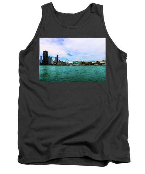 Chicago Blue Tank Top