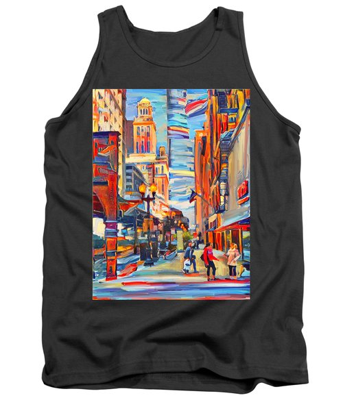 Chicago Colors 4 Tank Top