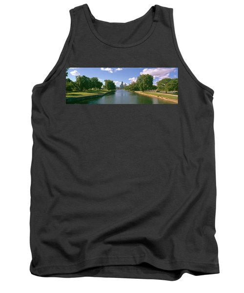 Chicago From Lincoln Park, Illinois Tank Top by Panoramic Images