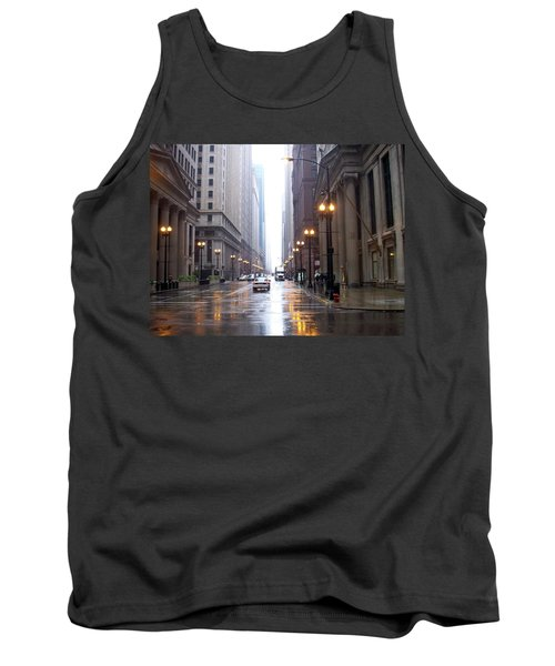 Chicago In The Rain Tank Top