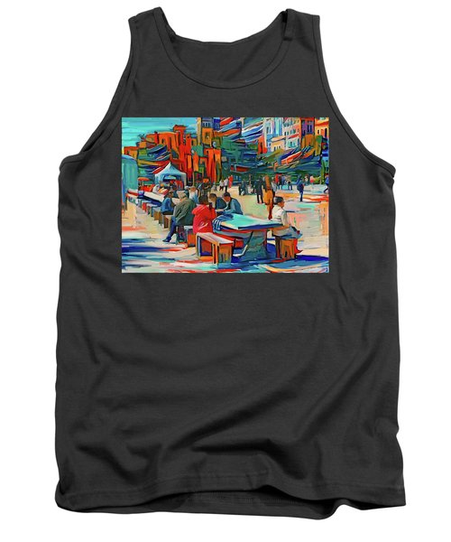 Chicago Millennium Sunday Tank Top