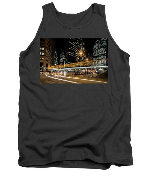 Chicago Nighttime Time Exposure Tank Top