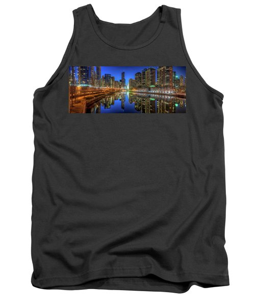 Chicago River East Tank Top