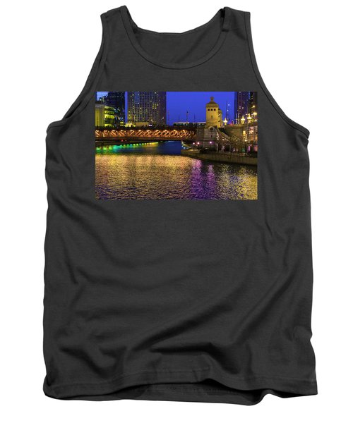 Chicago River Ver2 Tank Top