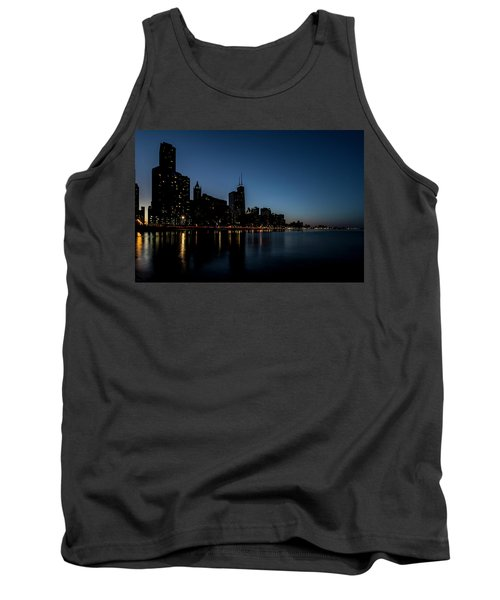 Chicago Skyline From Olive Park  Tank Top