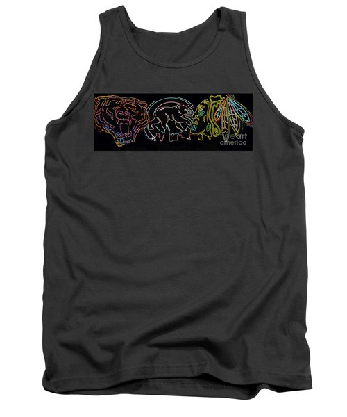 Chicago Sports Tank Top by Steven Parker
