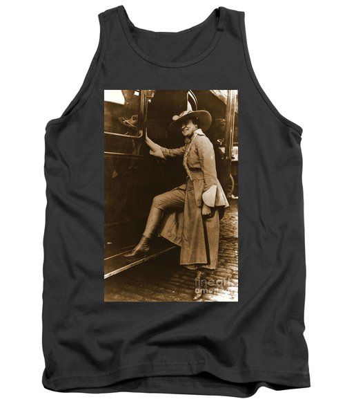 Chicago Suffragette Marching Costume Tank Top by Padre Art