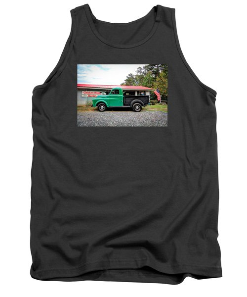 Chicken Road Market Tank Top by Marion Johnson
