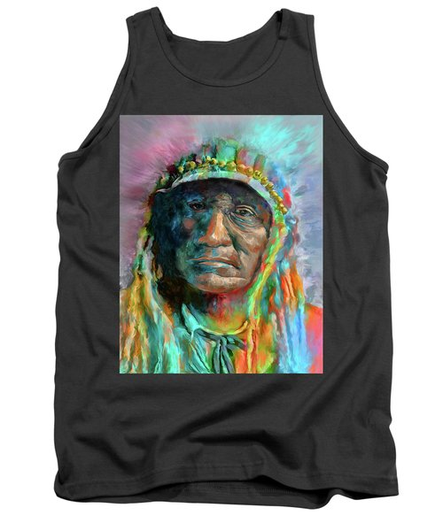 Chief 2 Tank Top by Rick Mosher