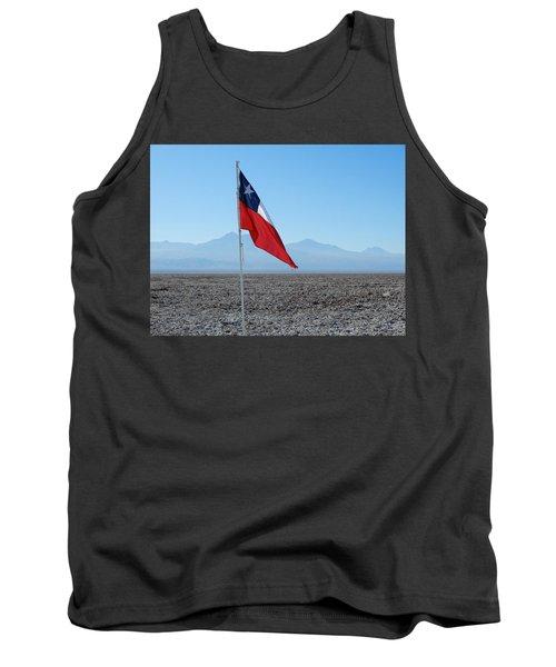 Chilean Flag Tank Top