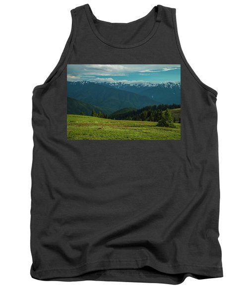 Chilling Out At Dusk Tank Top