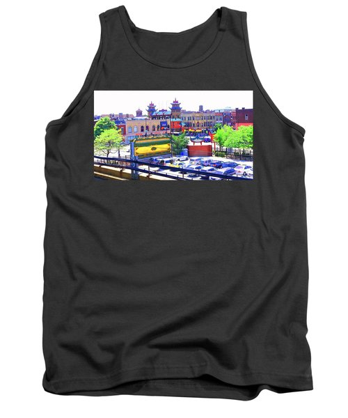 Chinatown Chicago 1 Tank Top by Marianne Dow