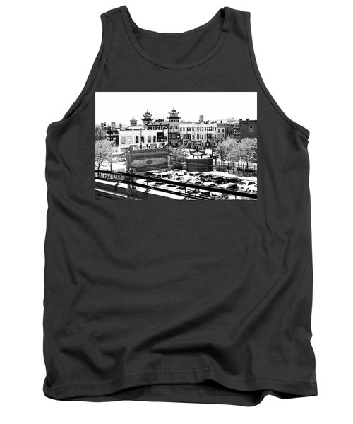 Chinatown Chicago 4 Tank Top by Marianne Dow