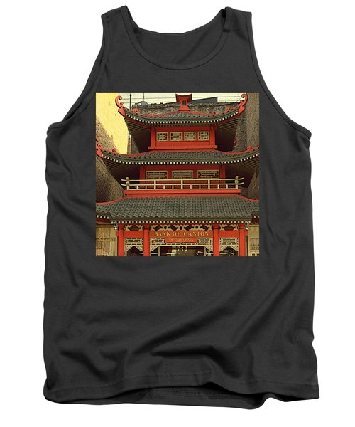 Chinatown San Francisco - Architecture Tank Top