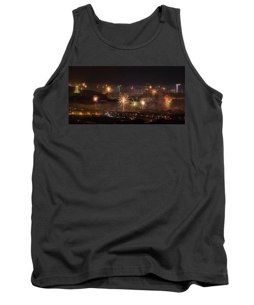 Chinese New Year Fireworks 2018 I Tank Top
