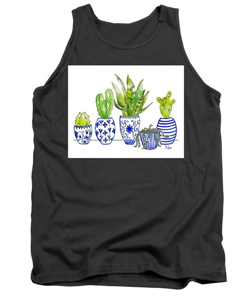 Chinoiserie Collected Tank Top