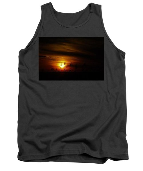 Tank Top featuring the photograph Chocolate  Sunset by John Glass