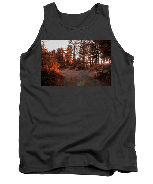 Choose The Road Less Travelled Tank Top