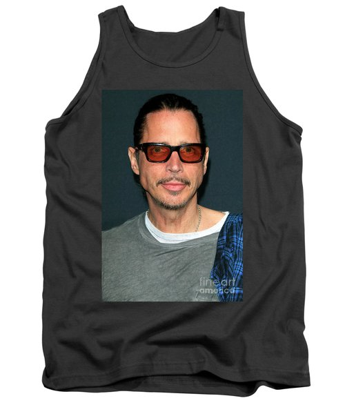 Chris Cornell Tank Top by Nina Prommer
