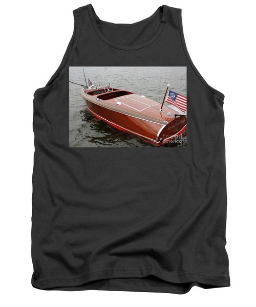 Barrel Back On Pewaukee Tank Top