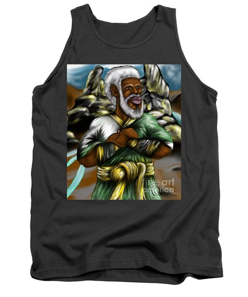 Christ The Messiah Our King Tank Top