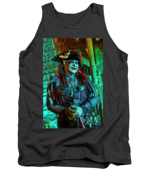 Christine Campiotti And Hunted House Tank Top