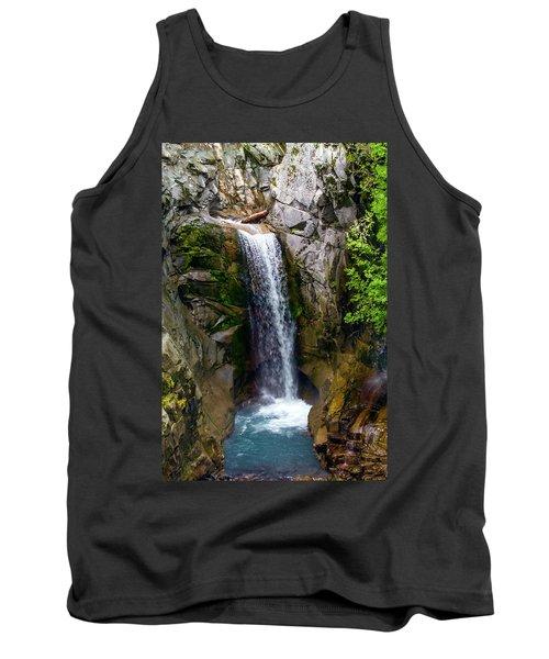 Christine Falls Mt Rainier Tank Top