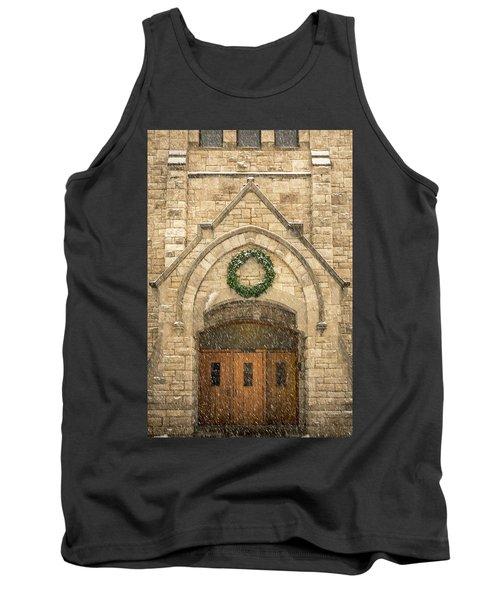 Christmas At Stone Chapel Tank Top