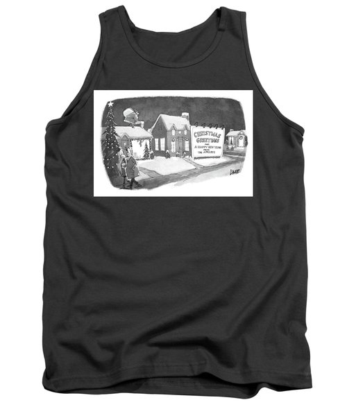 Christmas Greetings From The Applebys Tank Top