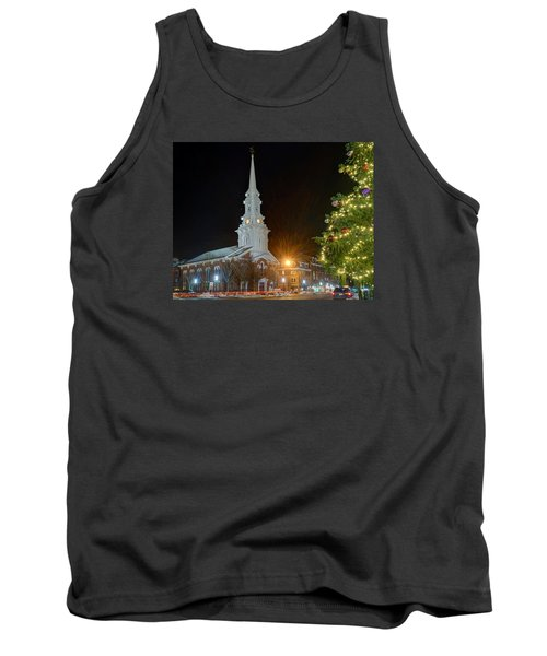 Christmas In Market Square Tank Top