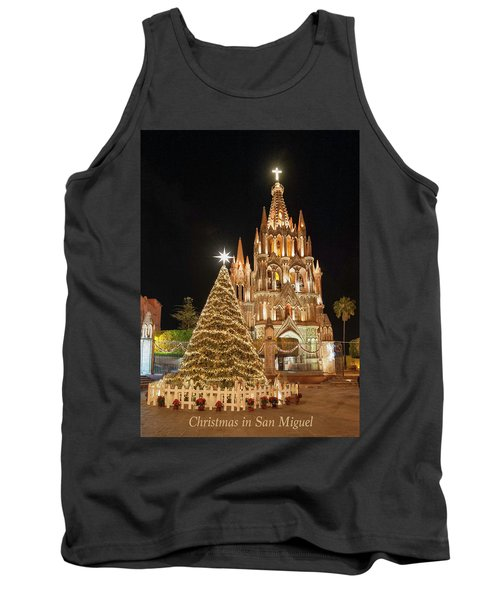 Christmas In San Miguel Tank Top