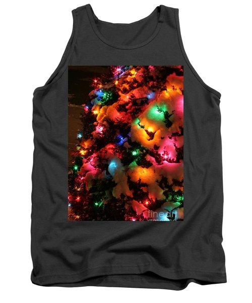 Christmas Lights Coldplay Tank Top by Wayne Moran