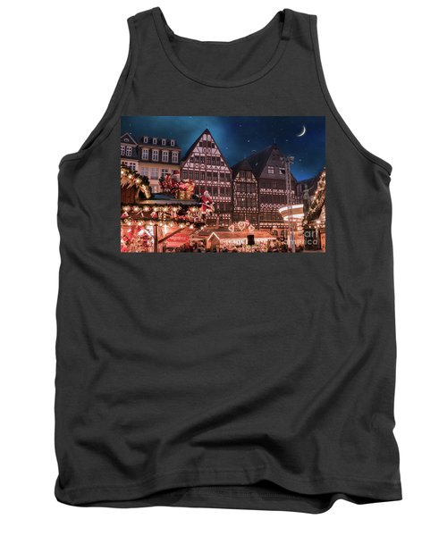 Tank Top featuring the photograph Christmas Market by Juli Scalzi